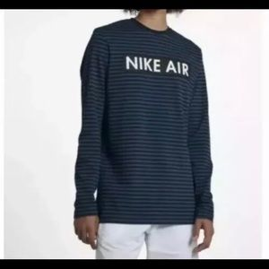 Nike Men's SZ M  Long Sleeve T-Shirt Blue/ Black